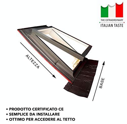 Emica - Lucernario apertura Vasistas in Alluminio | Linea...