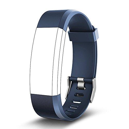 endubro Pulsera Repuesto para Fitness Tracker ID115 HR Plus (Azul)