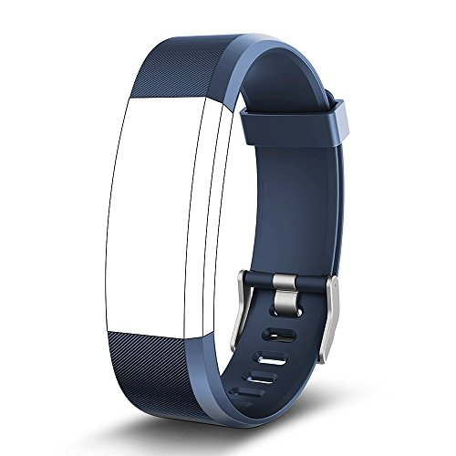 endubro Pulsera Repuesto para Fitness Tracker ID115 HR Plus (Azul)