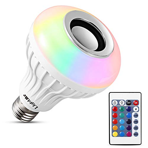 LightMe Intelligent E27 LED White + RGB Light Ball Bulb...