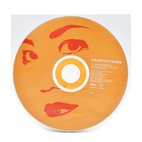 100 Buste Interne in Plastica per CD SHM-CD Mini LP da 5