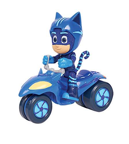 Simba 109402243 - PJ Masks Rover Catboy / mit Superhelden Action Figur / mit Spacehelm und Zubehör / blau / Figur 8cm groß, für Kinder ab 3 Jahren