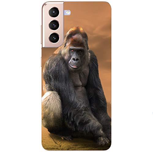 Generisch Gorilla AFFE - Carcasa blanda para Samsung Apple Huawei Honor Nokia One Plus Oppo ZTE Xiaomi Google, tamaño: ZTE Blade A530