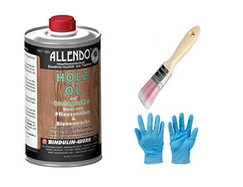 Aceite de protección de madera en el interior de la combinación de cera y aceite y resinas naturales.
