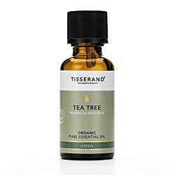 Organic Tea Tree pure essential oil 30 ml - 100 Percent Melaleuca Alternifolia Medicinal, fresh, green and strong penetrating aroma that is used mostly for its physical properties - blends well with Rosemary, Lemon, Eucalyptus and Lavender Combined w...