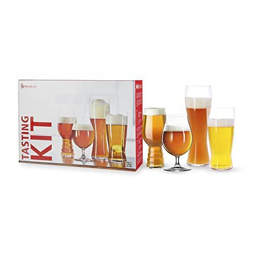 Spiegelau & Nachtmann, 4-teiliges Bier-Verkostungs-Glas-Set, Kristallglas, 4991695, Tasting-Kit, Beer Classics