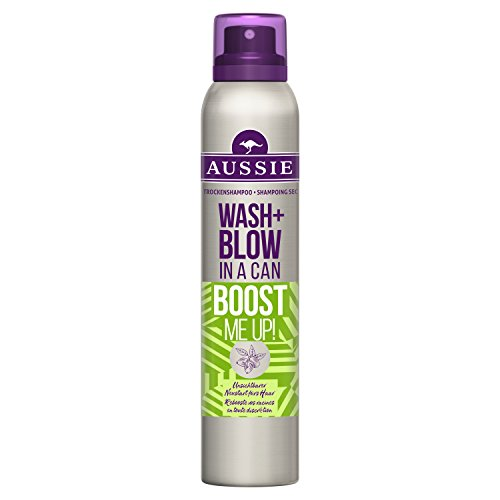 Aussie Wash+ Blow in a Can Dry Shampoo 12er Pack (12 x 65 ml)