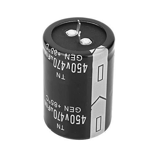 Condensador electrolítico tipo cuerno de buey 450V 470μF 35x50mm para soldadora inverter