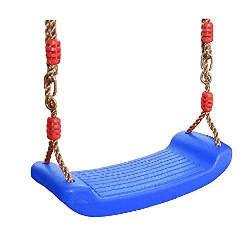 YepYes Kids Curved Plate Swing Seat Funny Rocking Chair Swing Seat for Indoor and Outdoor Blue