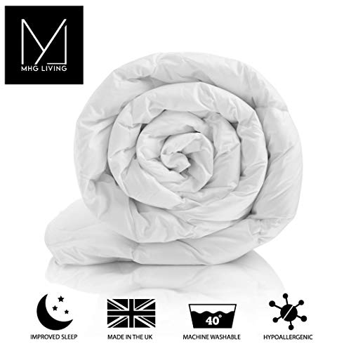 MHG Textiles Feels Like Down WINTER Warm Duvet 7.5/10.5/13.5/15 TOG Duvet (Double, 7.5 TOG)