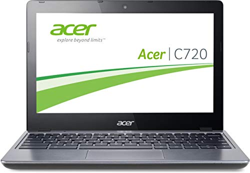Acer Chromebook C720-29552G01AII Intel 1400 MHz 2048 MB portátil, disco duro flash HD GPU (renovado)