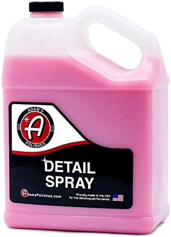 Adam's Detail Spray 16oz - Quick Waterless Detailer Spray for Car Detailing   Polisher Clay Bar & Car Wax Boosting Tech   Add Shine Gloss Depth Paint   Car Wash Kit & Dust Remover
