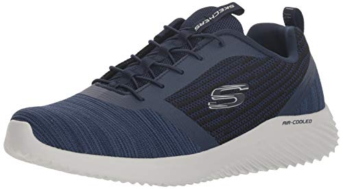 Skechers Men's Bounder Trainers, Blue (Navy Nvy), 8.5 UK (42.5 EU)
