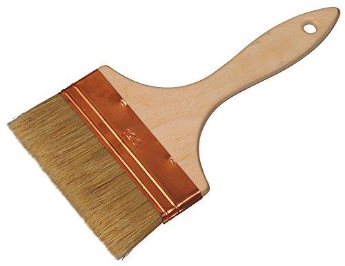 Color Expert 244150 Pinceau qualité professionnelle Spalter Soies Blanches Manche bois naturel 150 mm