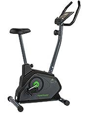 Tunturi Cardio Fit B30 hometrainer fiets / fitnessfiets / hometrainer fiets trainer met LCD-scherm en tablethouder - zwart