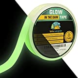 Glow in The Dark Tape – 30ft x 1inch – Premium Industrial Grade Interior and Exterior Luminous Glow Tape to Help See Objects at Night and Outdoors