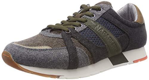 Napapijri Footwear Herren RABARI Sneaker, Grau (Grey N80), 43 EU