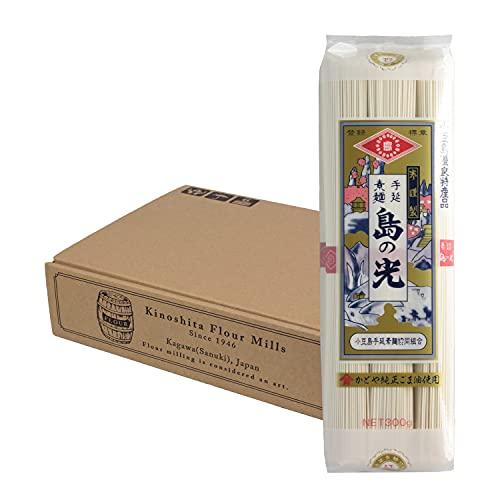 【乾麺 手延素麺】 小豆島 手延そうめん 島の光 2.4kg (300g×8袋)