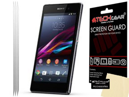 Techgear SCRP-SO.Xperia.Z1-3PK - Protector de pantalla para móvil