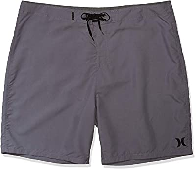 Hurley Men's One and Only Board Shorts, Cool Grey, 29
