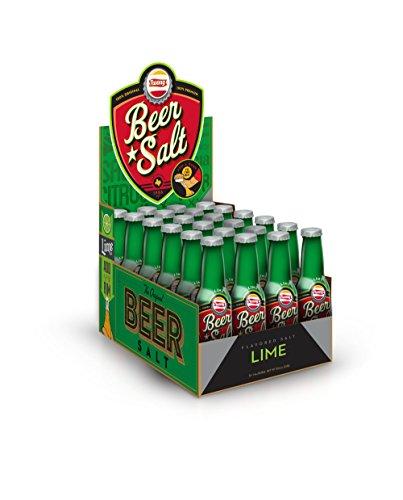 Twang Flavored Beer Salt, Lime, 1.4 Ounce Mini Bottles (24 Count Display Pack)