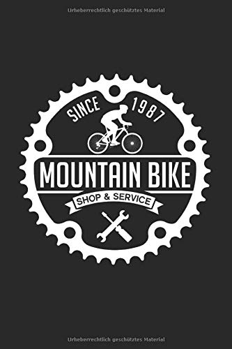 Mountainbike: Gitarren Tab Heft: Gitarren Notizbuch 120 Seiten als Softcover, Größe: A5