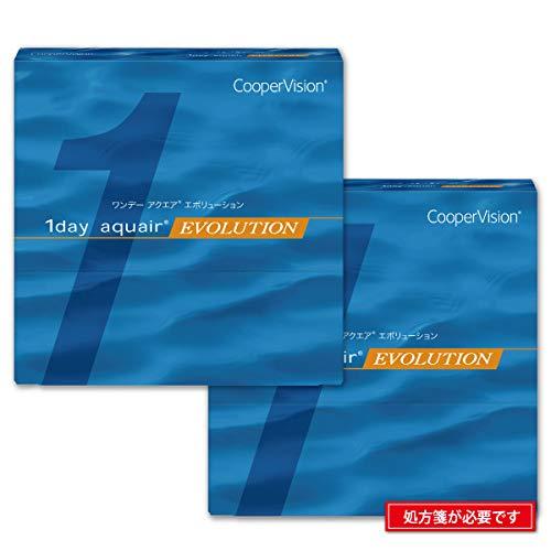 クーパービジョン/ワンデーアクエア エボリューション 90枚入り × 2箱セット/Pow-1.00