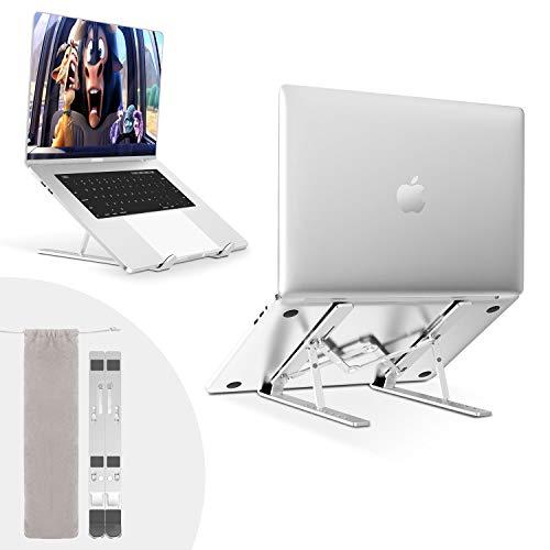 Tarnel Laptop Ständer Höhenverstellbarer Aluminiumlegierung Laptop Stand Tragbarer Halter Halterung Riser für Alle 10