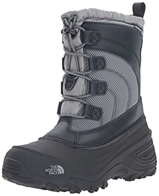The North Face Alpenglow IV Boot, Griffin Grey/Zinc Grey, 5 M US Boys