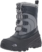 The North Face Alpenglow IV Boot, Griffin Grey/Zinc Grey, 11 M US Little Kid
