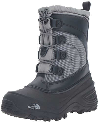 The North Face Alpenglow IV Boot, Griffin Grey/Zinc Grey, 13 M US Little Kid