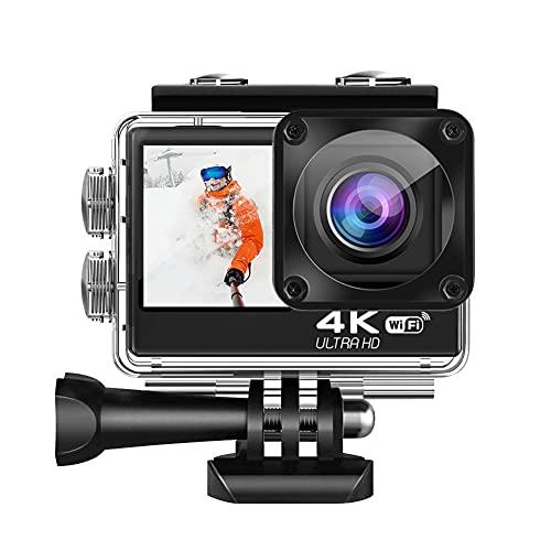 XJST Waterproof 4K Digital Action Camera, 24MP Photos,...