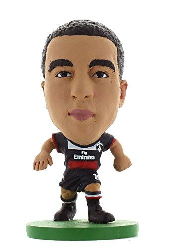 SOCCERSTARZ - 401465 - Figurine Sport - Officiellement Autorisé De Lucas Moura dans Le Maillot Officiel du Paris St Germain