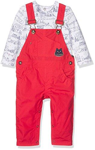 Catimini CJ36091 Ropa de Bautizo, Rojo (Rouge 37), 1 Año (Talla del Fabricante: 12 Meses) para Bebés