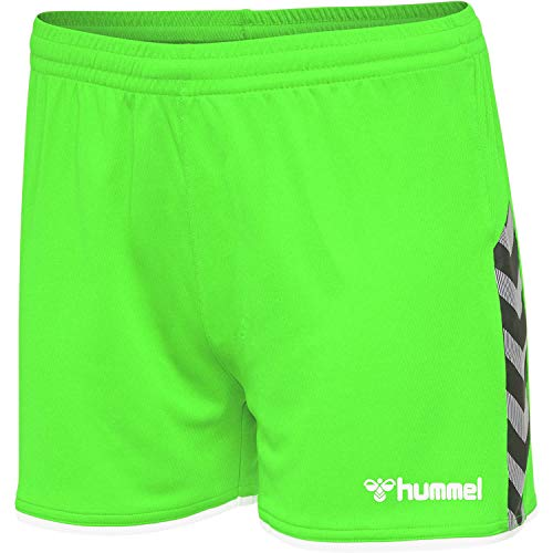 Hummel Damen Shorts Authentic Poly 204926 Green Gecko L