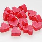 Florex Schafmilchseife mini mini Herz 50 Stück Lotus im Organzasäckchen Seife Gastgeschenk