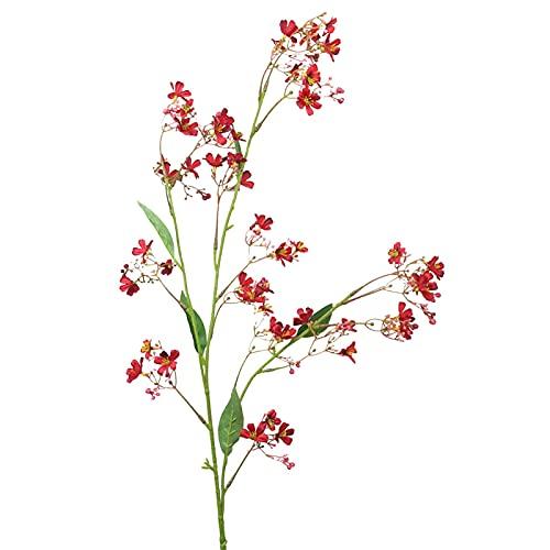 Hengjierun Flor Artificial Larga, 110 cm de Alto Ramo de Flores de Colza Estilo Rural idílico para jarrón, Flores Artificiales para decoración, Adecuado para Wdeding Home Office Hotel