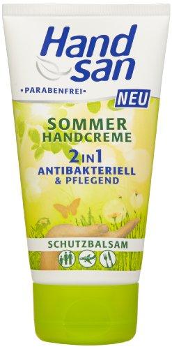 Handsan Sommer-Handcreme 2in1, 3er Pack (3 x 75 ml)