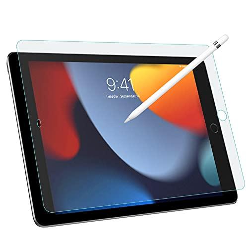 MoKo Entspiegelte Bildschirmschutzfolie Kompatibel mit Neu iPad 9. Generation 2021 / iPad 8. Gen. 2020 / iPad 7. Gen. 2019, Blasenfreie Matte Schutzfolie Anti-Fingerabdruck Folie, Matt