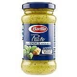 Barilla Sugo Pesto alla Genovese senza Aglio con Basilico Fresco Italiano e Parmigiano Reggiano Dop, senza Glutine, 190g