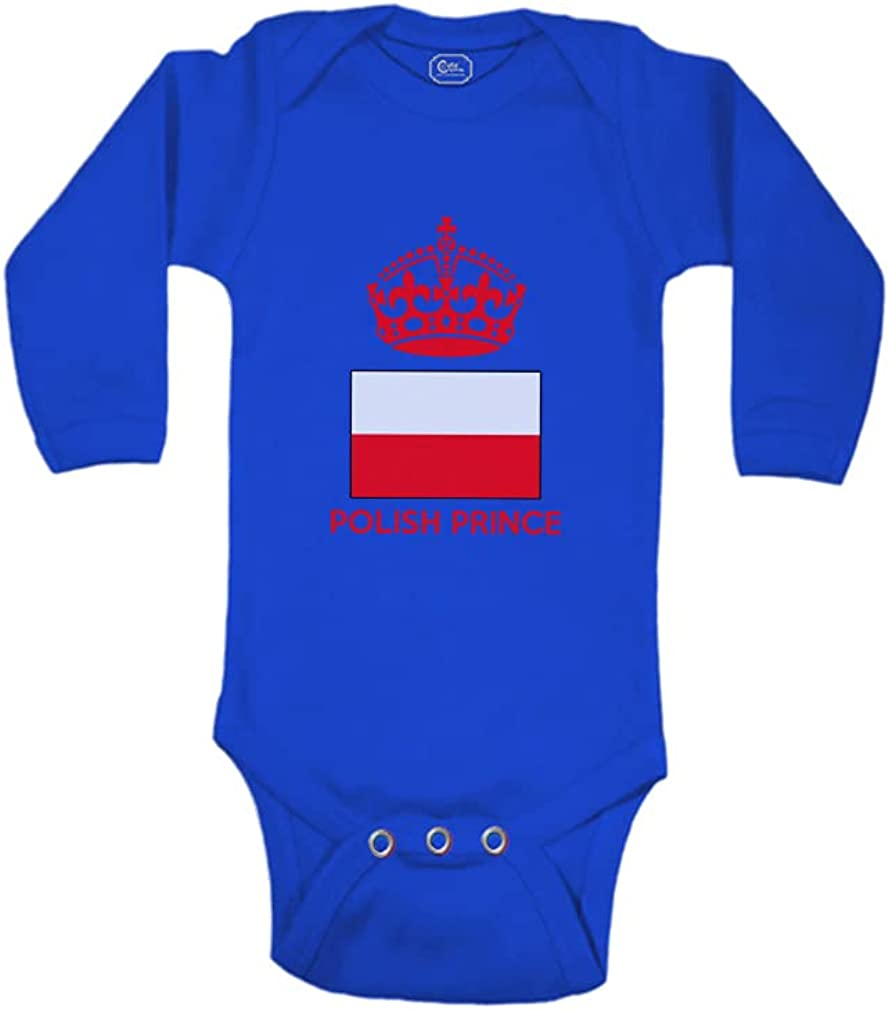 Cute Rascals Baby Long Sleeve Bodysuit Count Prince Super sale period New York Mall limited Crown Polish