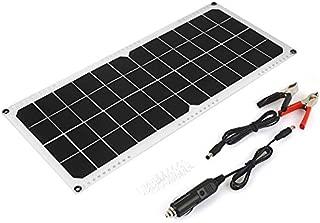 Leoboone 5W 5V Panel Solar Cargador de bater/ía DIY M/ódulo Solar con Puerto USB Tablero de Carga Solar port/átil al Aire Libre para tel/éfonos m/óviles