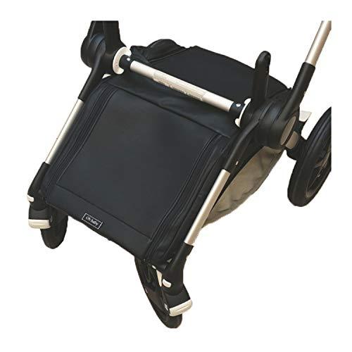 Rosy Fuentes - Cubre Cesta Impermeable Para Silla de Bebé - 32 x 50 x 25 cm - Exclusiva para Silla Bugaboo Fox - Cubre Cesta Silla Bugaboo - Doble Apertura de Cremallera - Color Negro