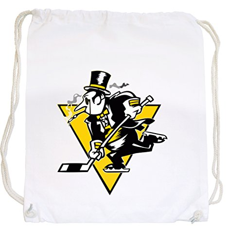 Certified Freak Hockey Pinguin Gymsack White