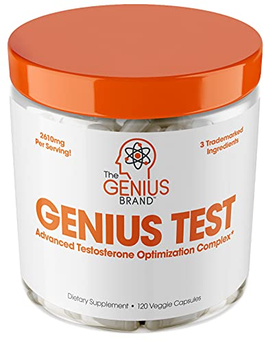 Genius Test - The Smart Testosterone Booster For Men  ...