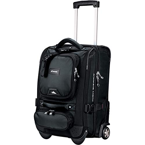 "High Sierra 21"" Carry-On Duffel - Charcoal"