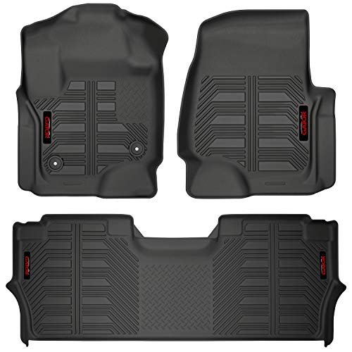 Gator 79613 Black Front Floor Liners Fits 2017-20 Ford F-250/F-350 Crew