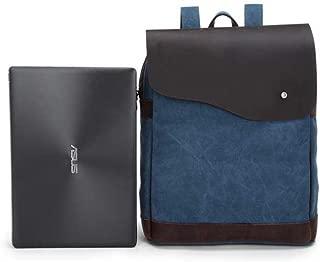 Sturdy Fashian Retro Backpack Outdoor Travel Student Schoolbag Crazy Horse Leather Handbag Large Capacity