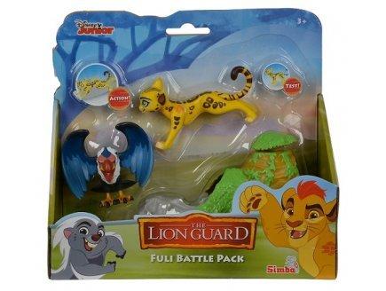 Simba Coffret Disney : guepard fuli et Le vautour mzingi - la Garde du Roi Lion - Animaux - Figurine