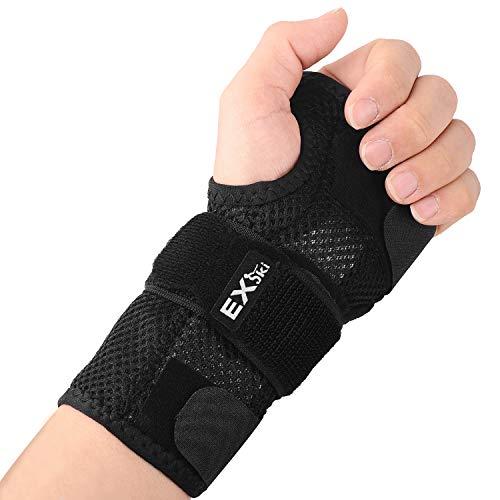 EXski Handgelenk Schienen Bandage Handgelenkschiene Handbandage Links Rechts Hand Karpaltunnelsyndrom Kompressionsband